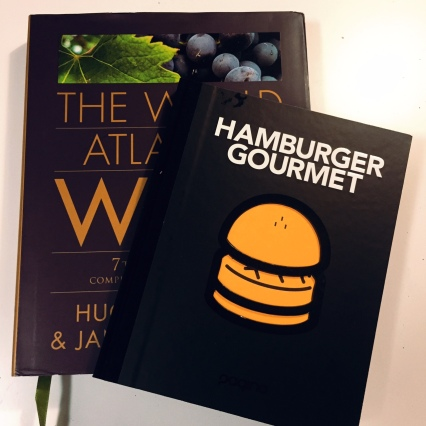 The World Atlans of Wine and Hamburger Gourmet