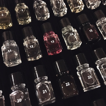 Scents in bottles