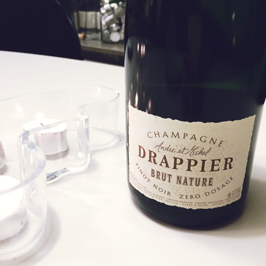 Wine Review: Champagne Drappier Brut NatureNV