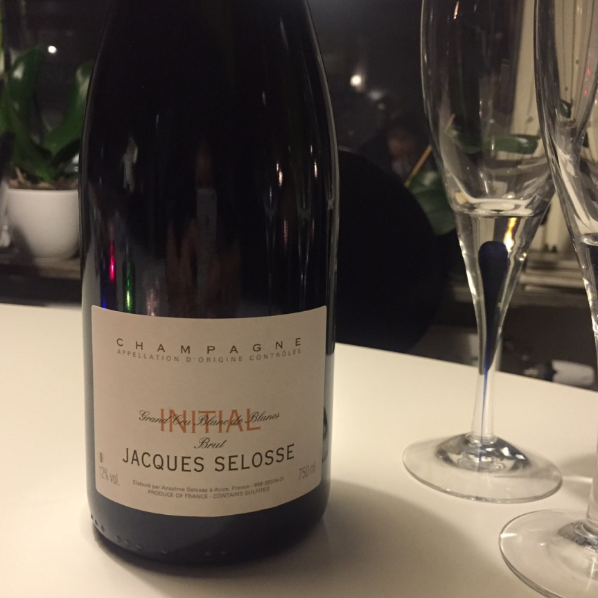 Wine Review: Jacques Selosse Initial Grand Cru Blanc de BlancsBrut