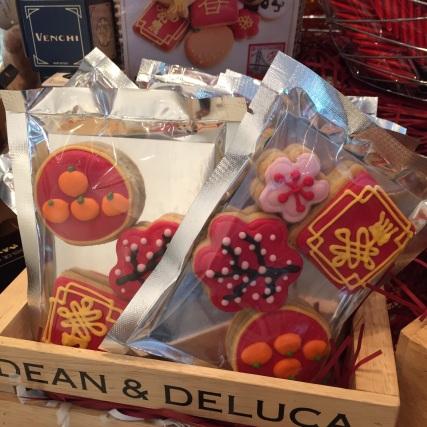 Cakes at Dean & Deluca