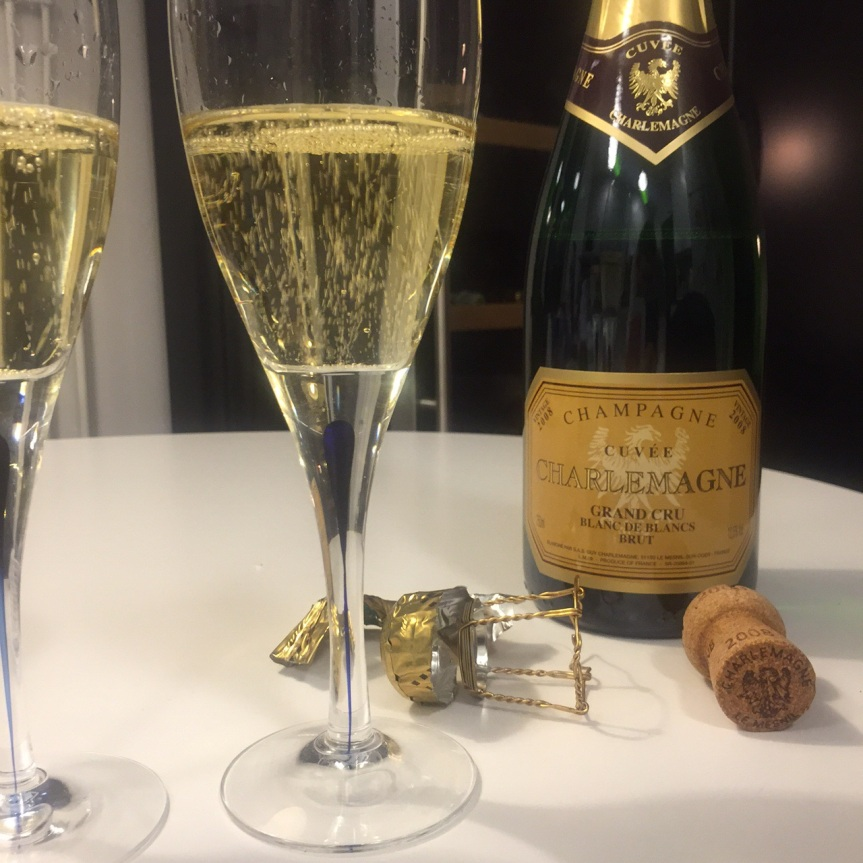 Wine Review: Cuvée Charlemagne Grand Cru Blanc de Blancs 2008