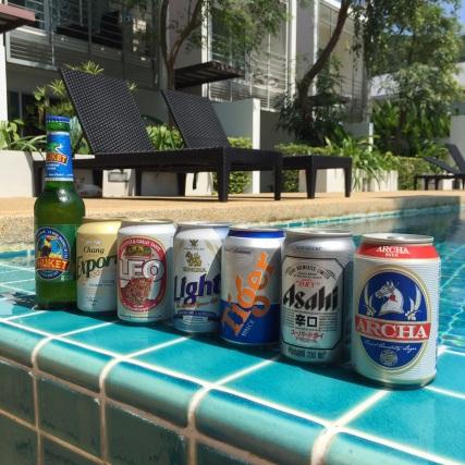 Samui Beer tasting