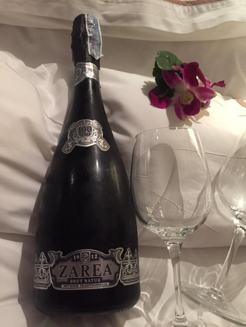 Wine Warning: Zarea Brut Nature 100 Year Aniversary SparklingWine