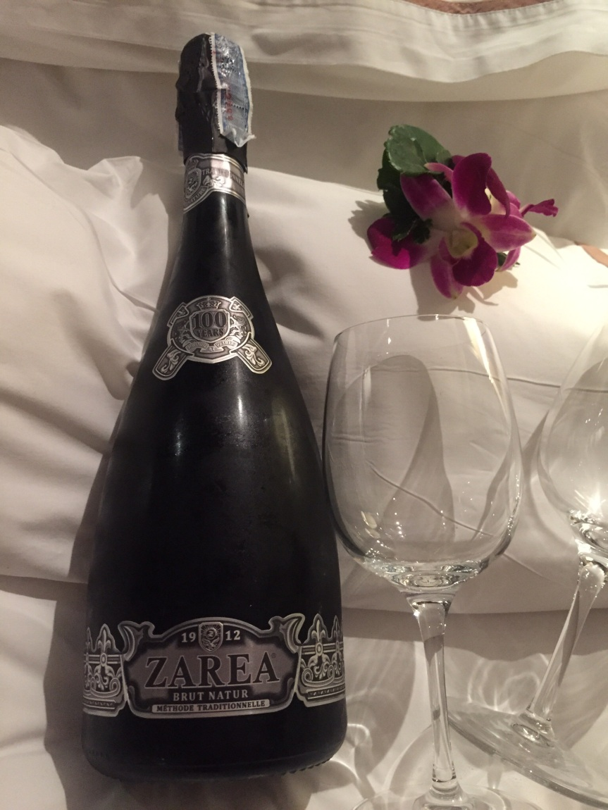 Wine Warning: Zarea Brut Nature 100 Year Aniversary Sparkling Wine