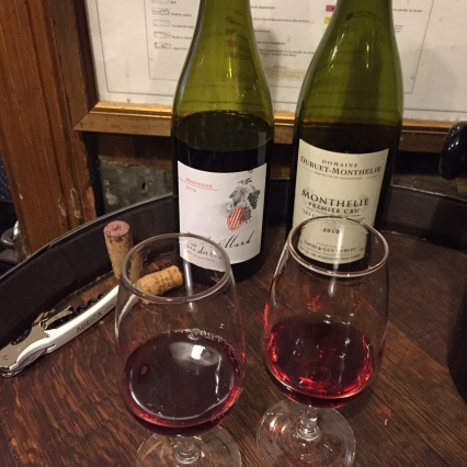 Tasting some Pinots