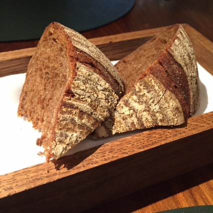 Bread with caramelized butter
