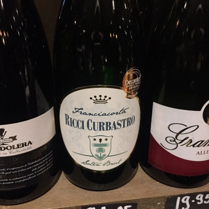 Bubbly from the shelf