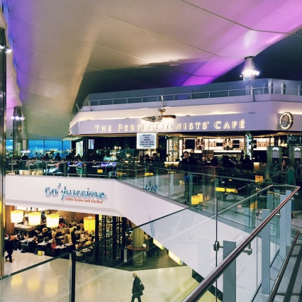 Hestons new restaurant at Heathrow Terminal 2