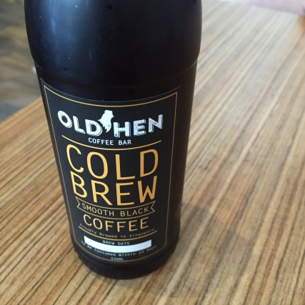 Cold brew at Old Hen