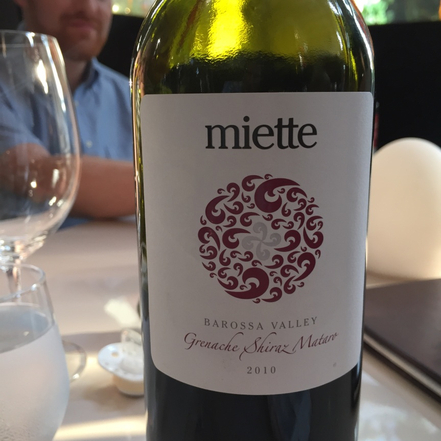 Wine Review: 2010 Miette Grenache Shiraz Mataro, Barossa Valley, Australia