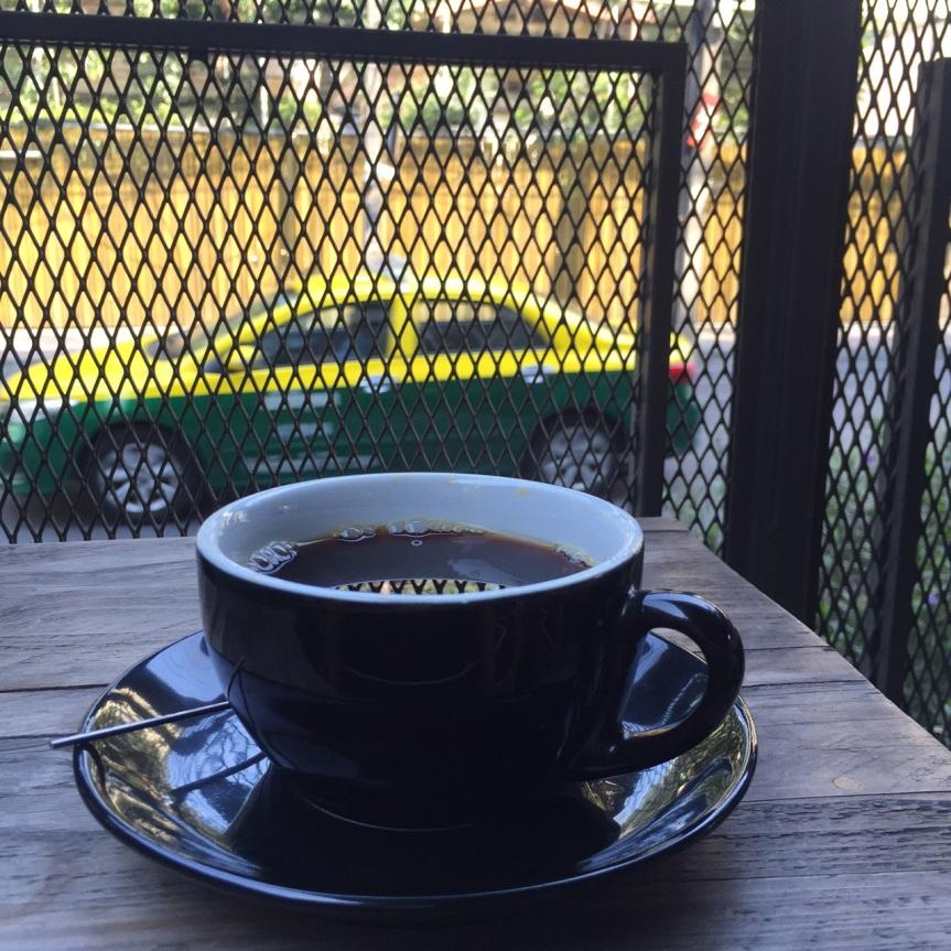 Coffee bar review: Wonderwall the Kaffebar(Bangkok)