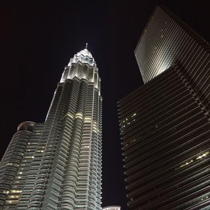 Petronas at night