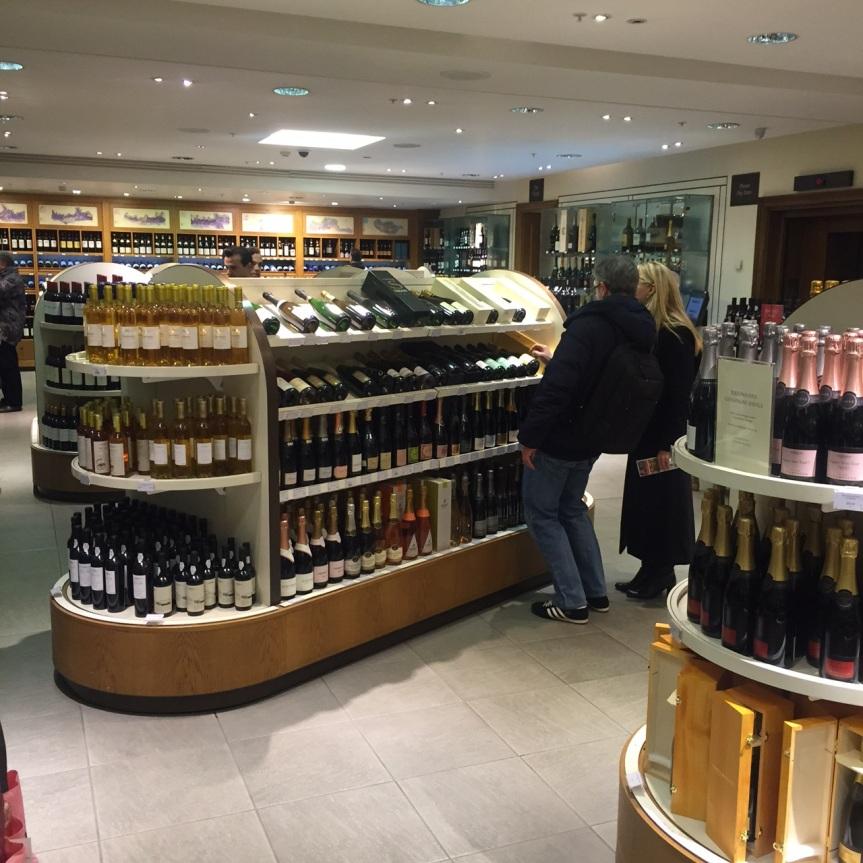 Wine Shopping at the Iconic Fortnum &Mason