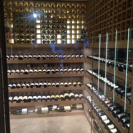 Rare wines room