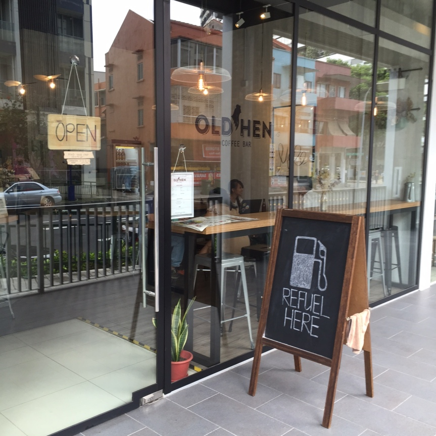 Coffee Bar Review: Old Hen Coffee Bar,Singapore