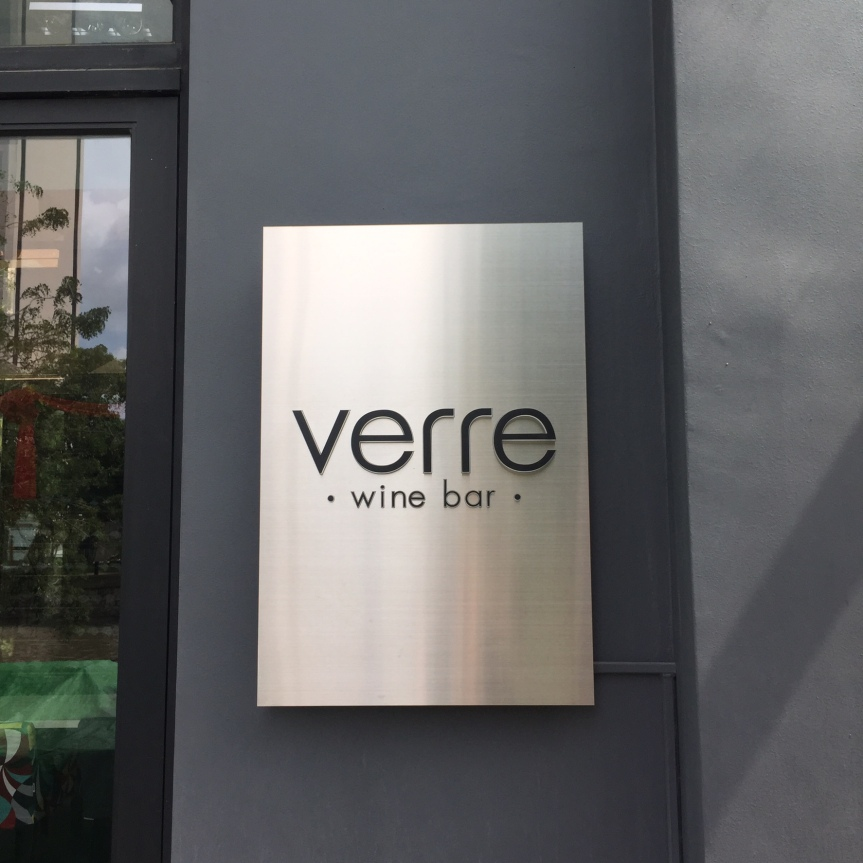 Happy Hour at Verre