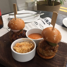 Iberico BBQ burgers
