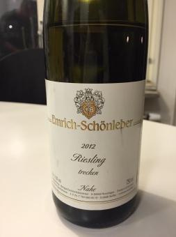 Emrich-Schönleber Riesling Nahe 2012
