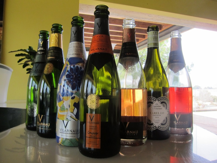 All the wines we tasted