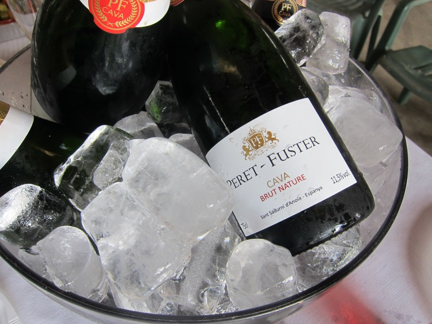 Nothing better on May 1st than some Peret Fuster Cava