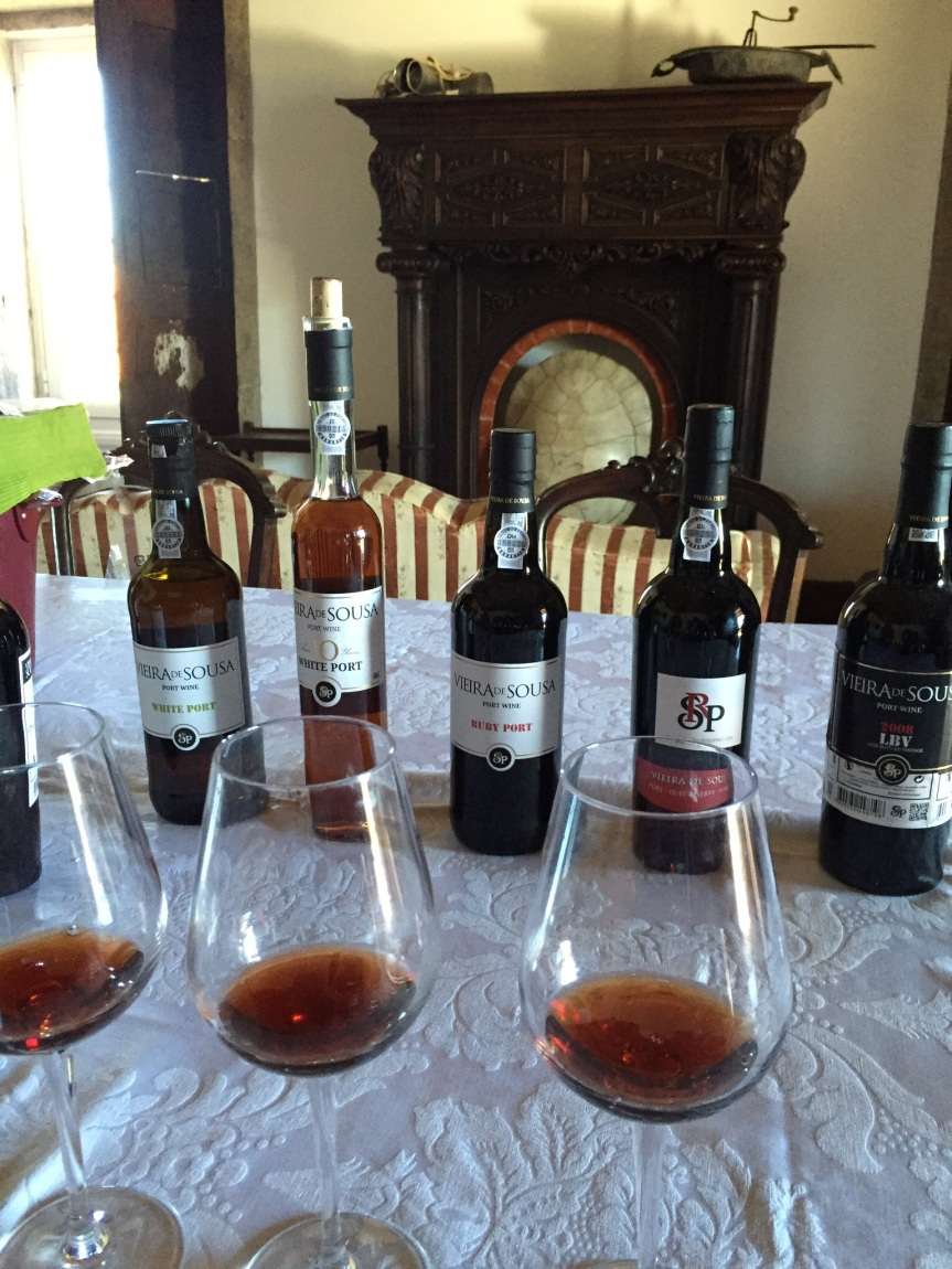 Tasting the ports