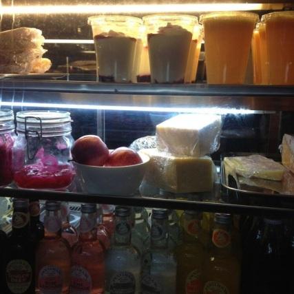 Juices and yogurt