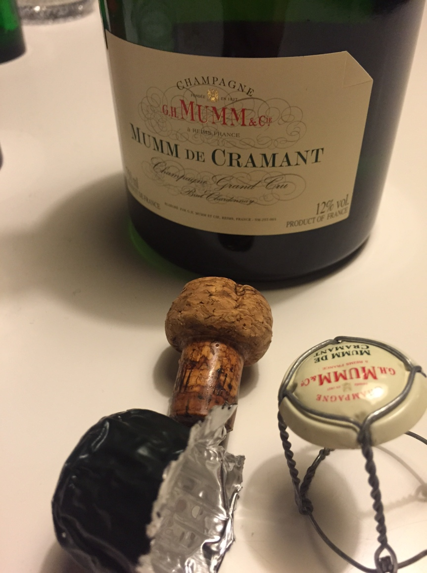 Wine Review: Mumm de Cramant Blanc de Blancs