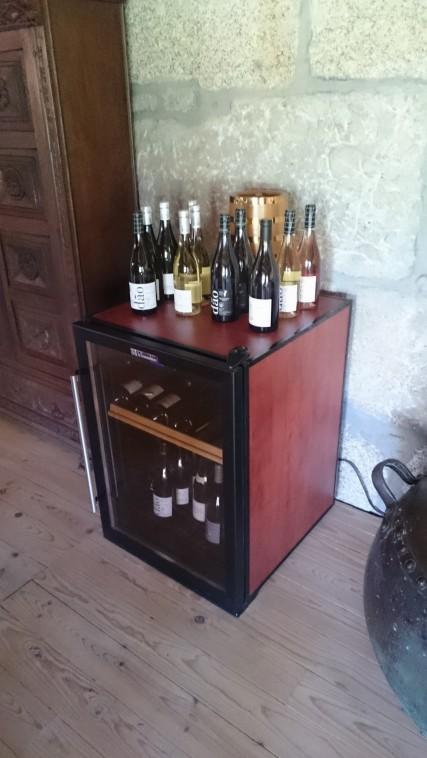 Mine wine fridge