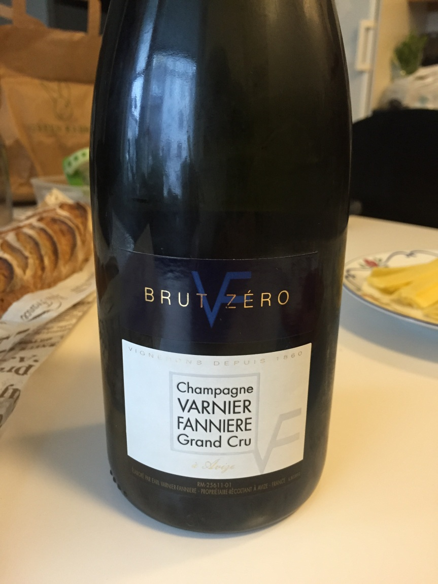 Varnier-Fannière Grand Cru Brut Zero NV – lovely grower champagne