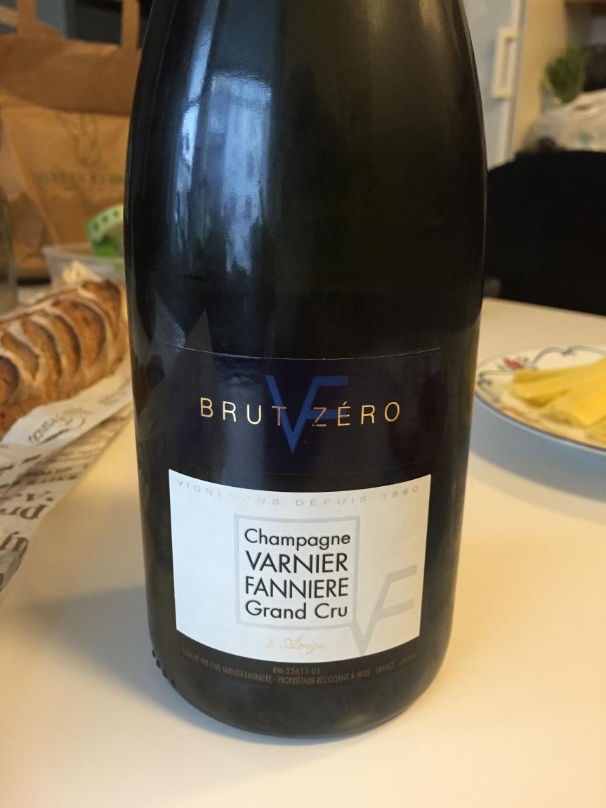 Varnier-Fannière Grand Cru Brut Zero NV – lovely growerchampagne