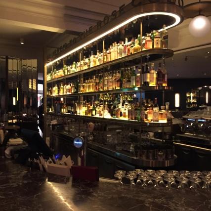 The bar at Black Swan