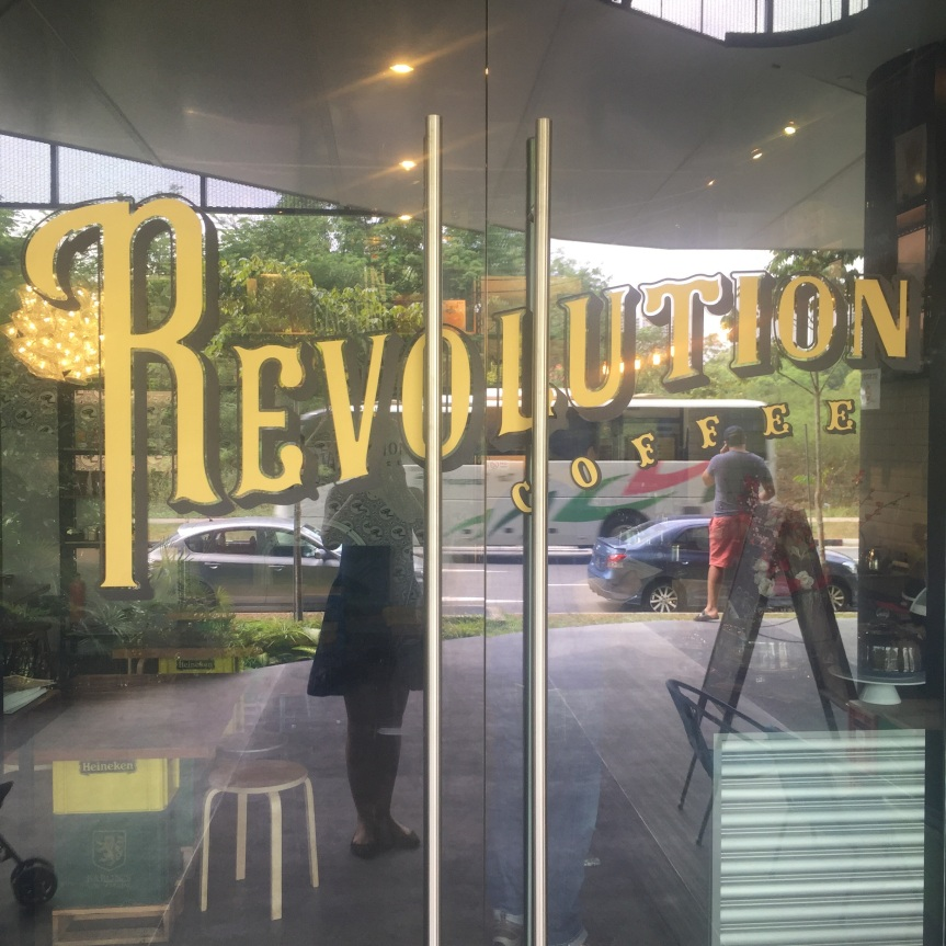 Coffee Bar Review: Revolution Coffee, Singapore