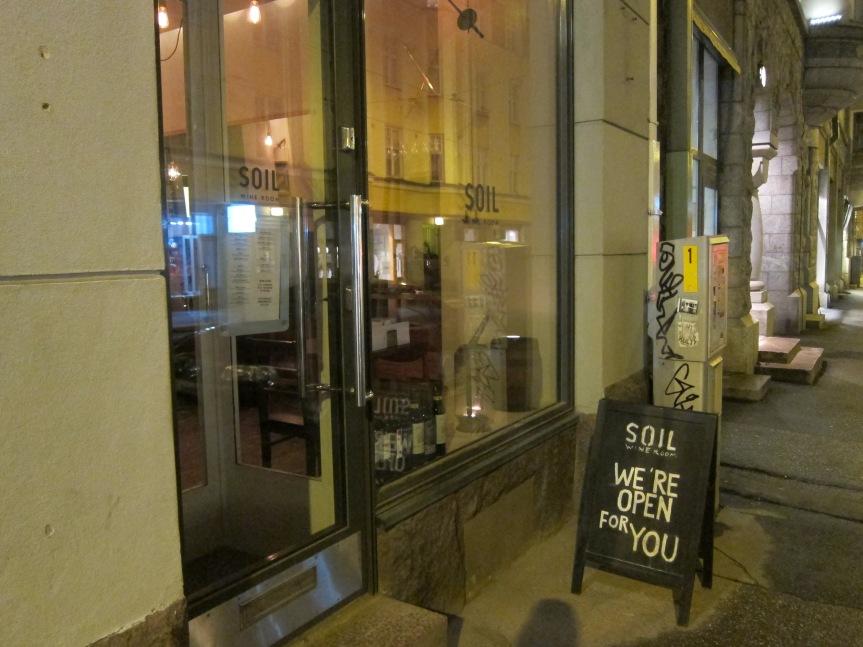 Honest Flavors at Soil Wine Room,Helsinki