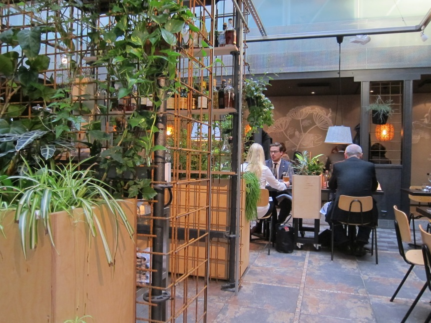 The garden room at Sinne Helsinki