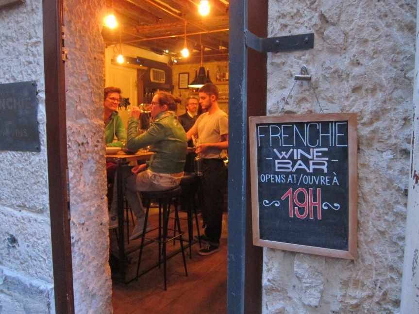 Wonderful food and wine at Frenchie Bar à Vins, Paris