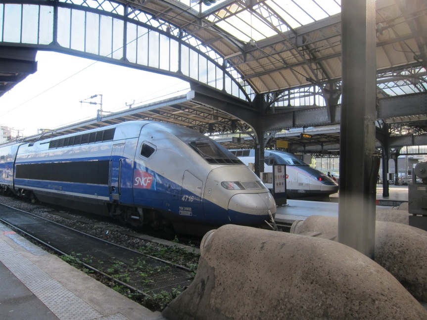 TGV from Paris to Reims