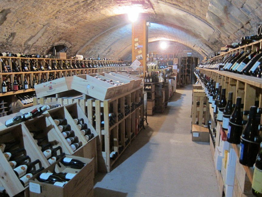 Wine Shopping in Reims – Les Caves du Forum