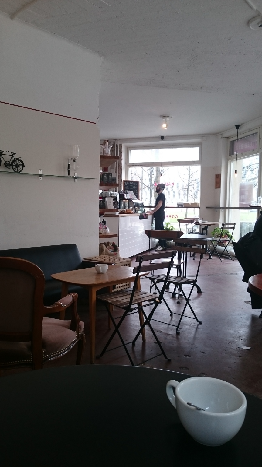 View of the cafe