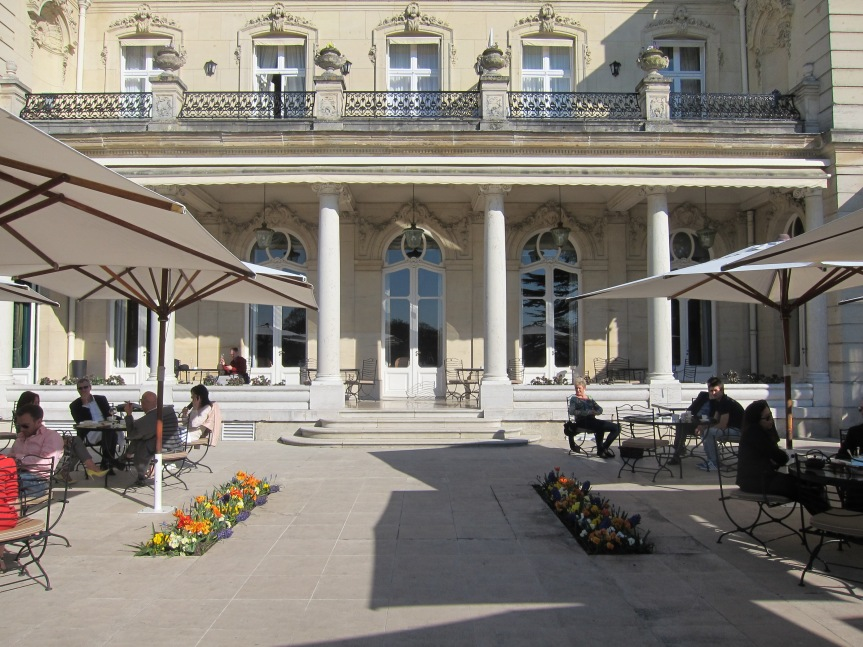 Champagne at Chateau Les Crayéres –Reims
