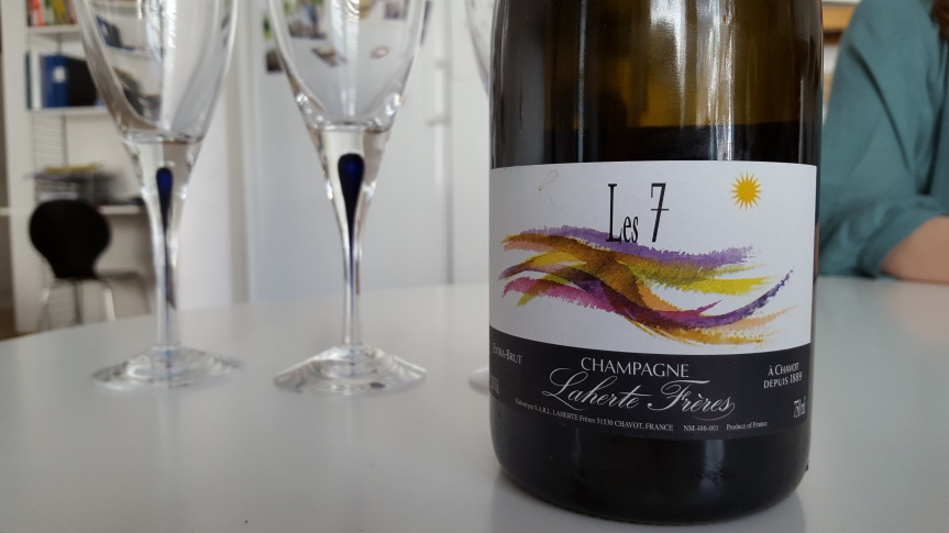 The amazing Les 7 ancient variety champagne from Laherte Freres