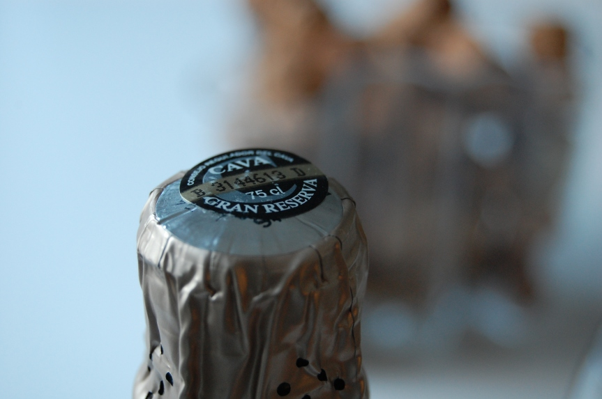 The black cava-label is a guarantee of  a long ageing.