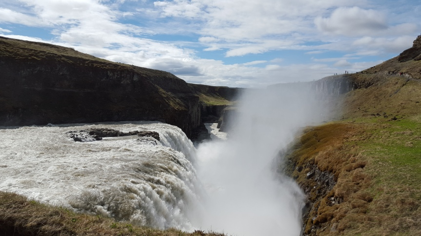 Breathtaking waterfalls on the Golden Circle tour
