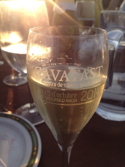 Cava at sundown