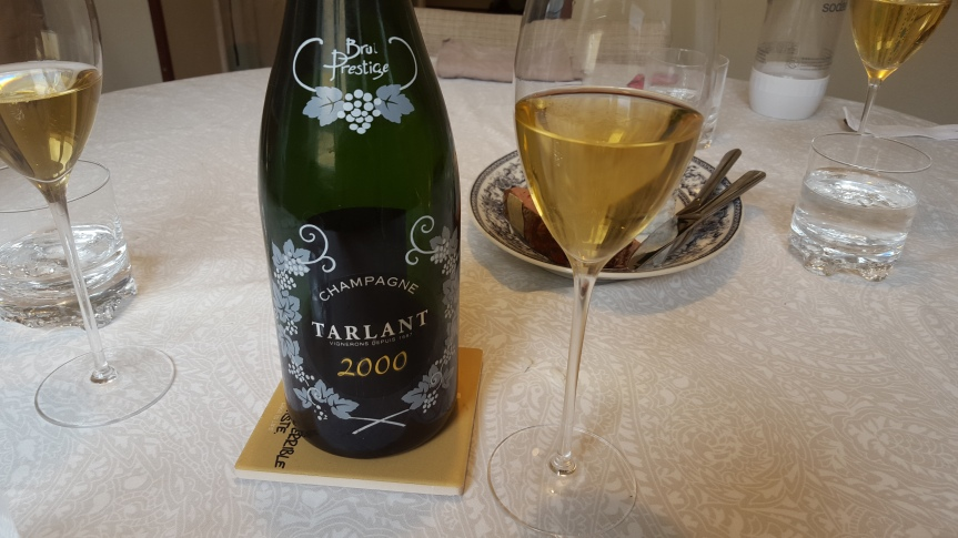 Wine Review: Tarlant Brut Prestige 2000