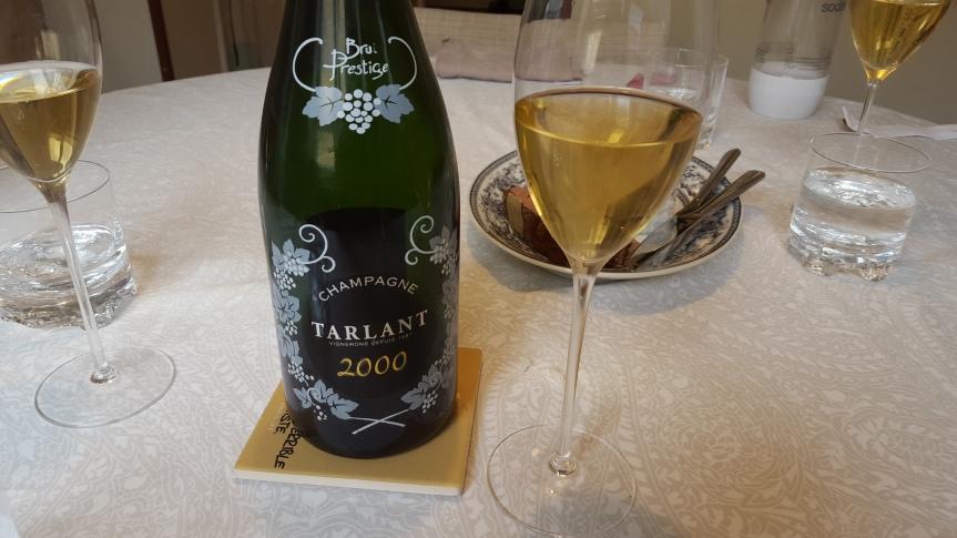 Wine Review: Tarlant Brut Prestige2000