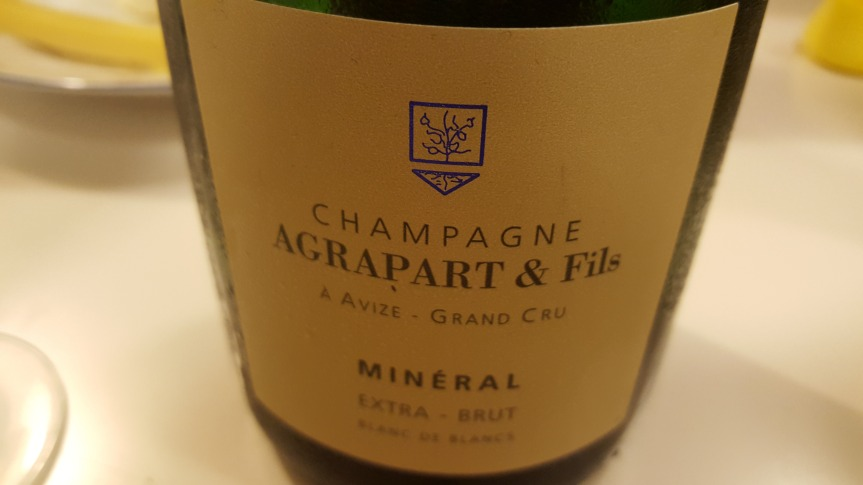 Wine Review: Champagne Agrapart & Fils Minéral Extra Brut