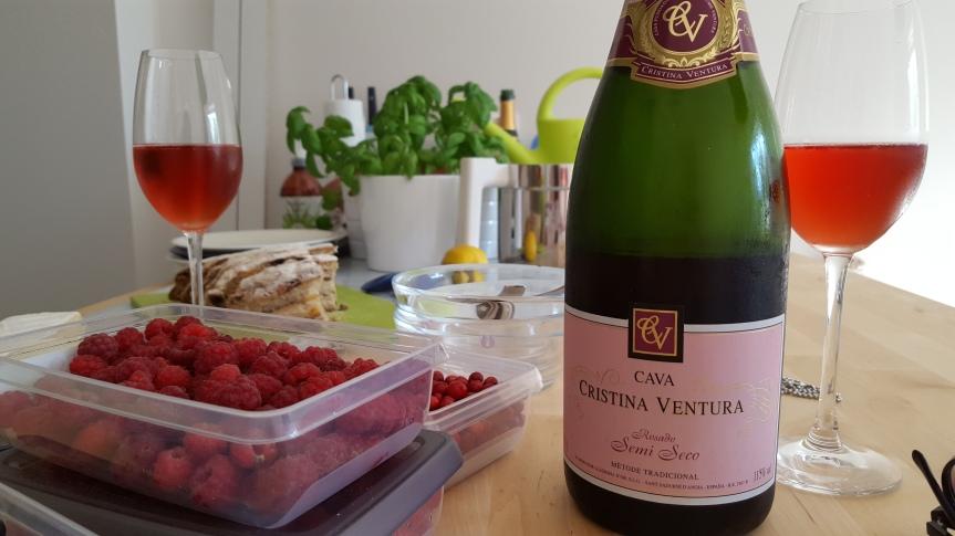 Forest berries, mascarpone cream and Cristina Ventura cava