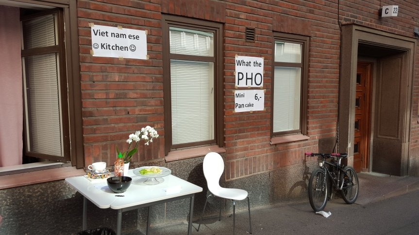 What the Pho, Vietnamese delights served from the kitchen window