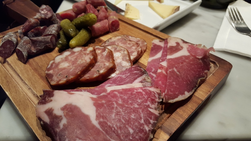 The meat board at NoFo